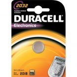 Batteria a Bottone Duracell CR2032