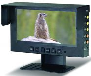 "Monitor LCD/TFT 7"" a due canali con audio"